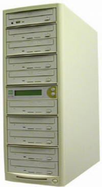 Dual Format DVD Tower Duplicator